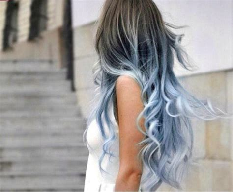 how to get icy silver hair icy blue silver ombre hair hair inspo pinterest