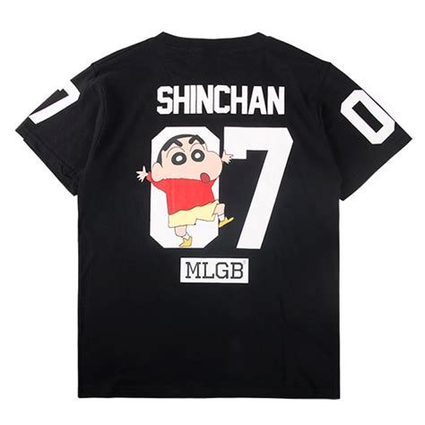 Sinchan T Shirt mlgb shinchan 07 t shirt black