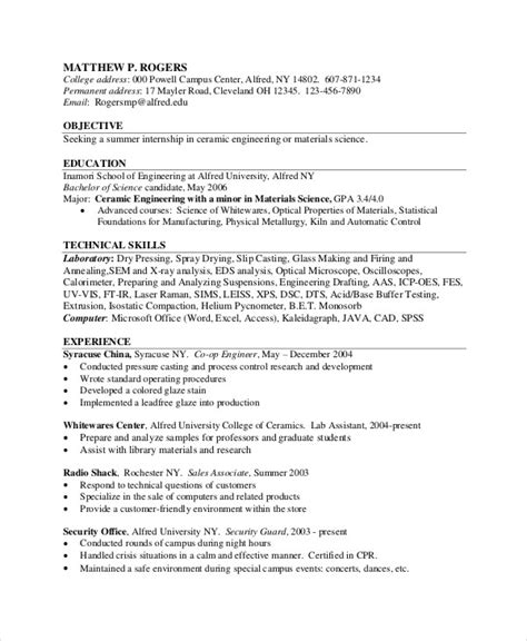 Regulatory Test Engineer Cover Letter by Powertrain Test Engineer Sle Resume Regulatory Test Engineer Sle Resume