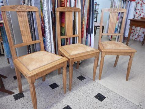 trois chaises de style d 233 co artisans du patrimoine