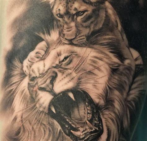 imagenes de guerreros en leones tatuajes de le 243 n decora tu piel con el rey de la selva