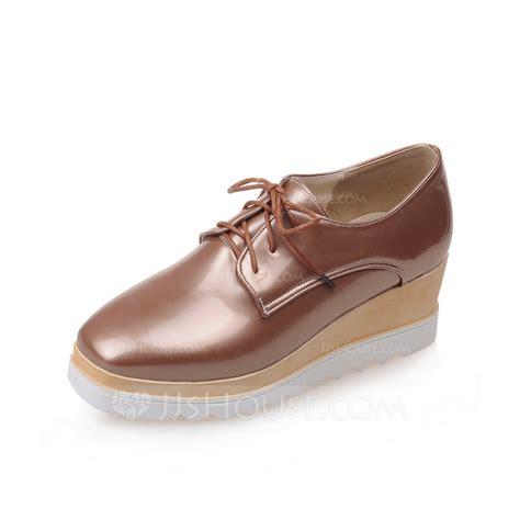 s patent leather wedge heel flats platform wedges