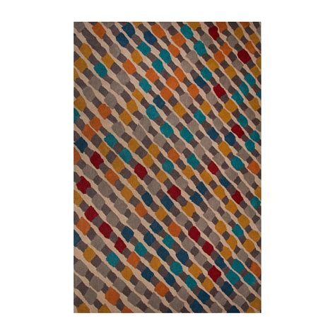 Aerial Area Rug Modern Geometric Aerial Wool Area Rug Multi 2 L X 3 W Jaipur Rugs Touch Of Modern