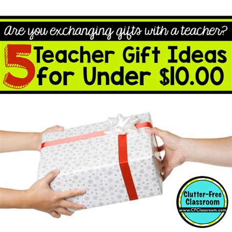 clutter free classroom low cost teacher gift ideas 5