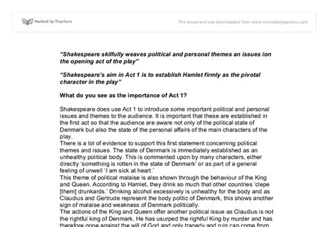macbeth political themes quot shakespeare skilfully weaves political and personal