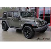 Jeep Wrangler With 20in Black Rhino Sidewinder Wheels Exclusively From