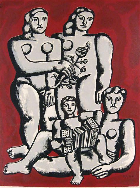 igavel auctions fernand leger french 1881 1955 quot les trois soeurs et enfant au l accordeon