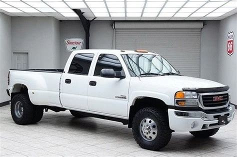 how do i learn about cars 2005 gmc yukon xl 1500 regenerative braking purchase used 2005 3500 sle 4x4 diesel dually crew cab 1 texas owner in mansfield texas united