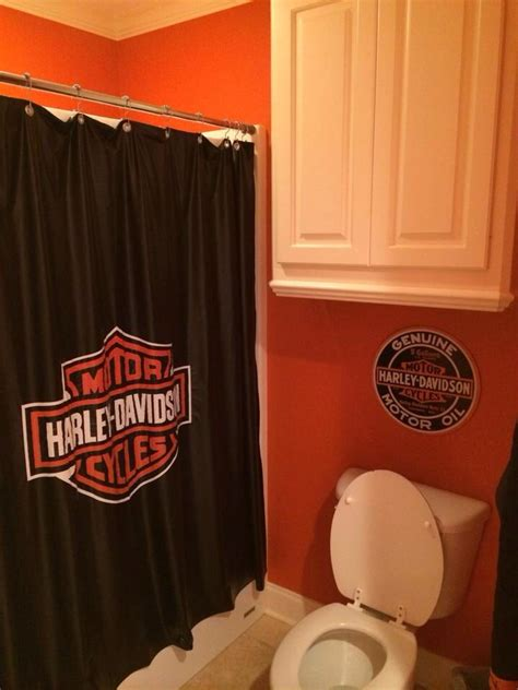 harley davidson bedroom decor harley bedroom shower curtain made from pool table cover
