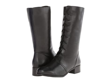 fitzwell boots fitzwell black calf s dress zip boots