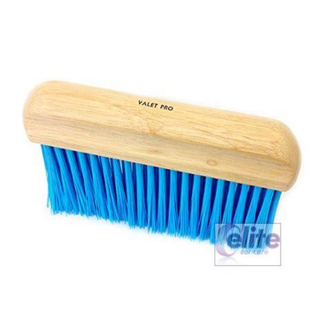 Upholstery Brush by Valet Pro Stiff Bristled Upholstery Brush Elite Car