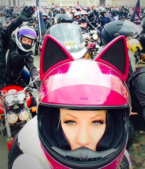 Motorradhelm Katzenohren by Cat Ear Motorcycle Helmets Motorr 228 Der
