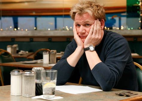 kitchen nightmares has gordon ramsay ever liked the food on kitchen