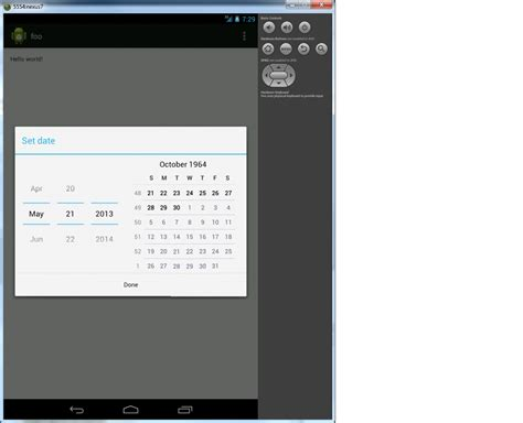 P Calendar Mindate Android Setting Mindate On Datepicker Calendarview