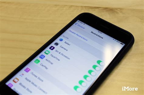 how to use restrictions and parental controls for iphone and imore