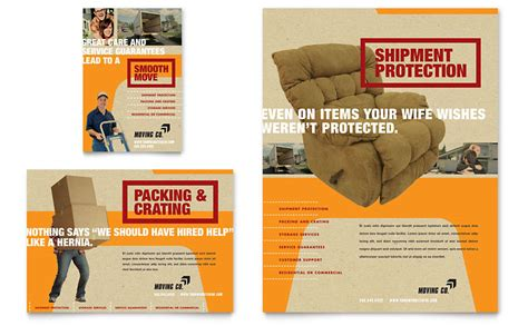 moving flyer template movers moving company flyer ad template word publisher