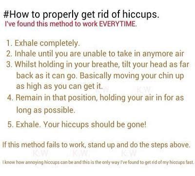 how to get rid of hiccups how to properly get rid of hiccups hacks and facts
