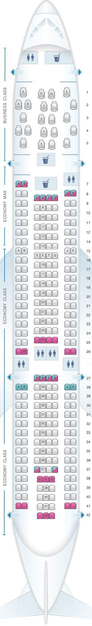 plan siege air plan de cabine edelweiss air airbus a330 200 seatmaestro fr