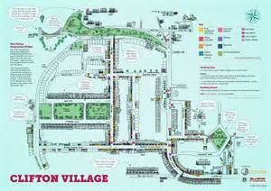 clifton map new illustrated map showcases one of bristol s jewels