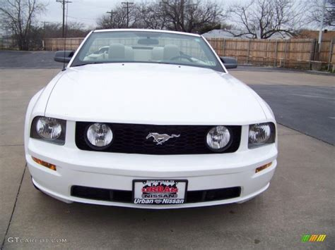 2007 mustang gt performance specs 2007 performance white ford mustang gt premium convertible