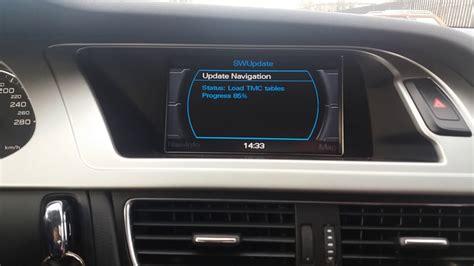Audi Mmi 2g Update by Navigation Mmi 2g Update 2008 2016 Youtube