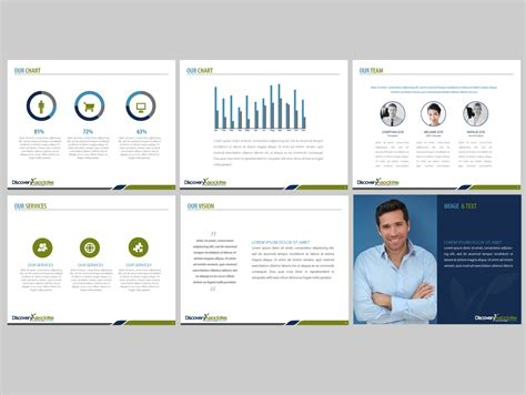 Professional Consulting Report Template Professional Serious Marketing Powerpoint Design For