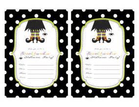 restlessrisa halloween party invitations