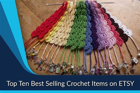 best selling crochet items on etsy top ten list