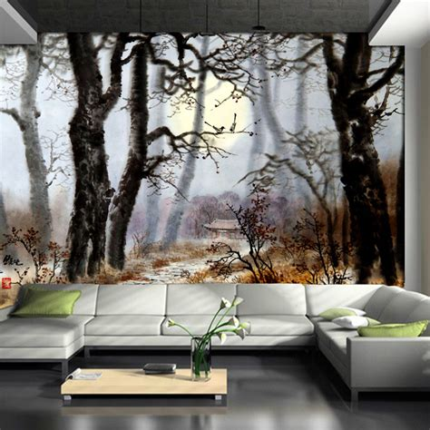 1wall tree wallpaper mural tree mural wallpapers 30