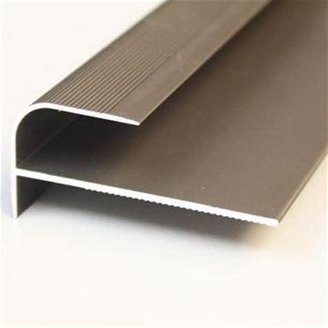 trim stair nosing silver