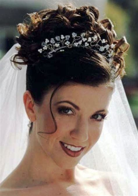 Wedding Updos No Veil by Wedding Hairstyles For Hair Updos With Veil And Tiara