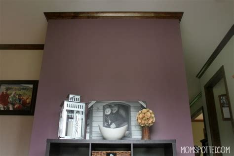choosing a bold color accent wall with valspar