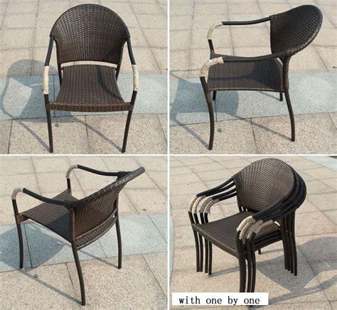 plein air rond en osier chaises et tables cinq pi 232 ces