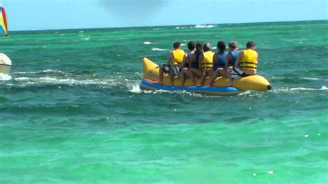 boat ride to bahamas banana boating freeport bahamas youtube