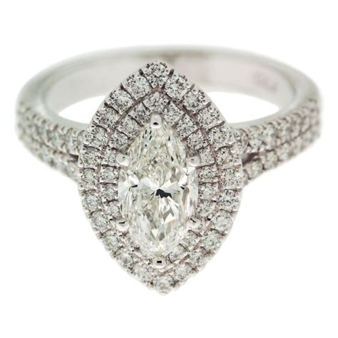 marquise ring with halo mouradian custom