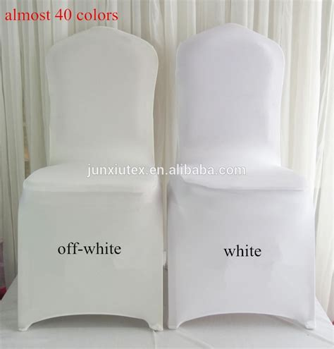 Inexpensive Covers White Cheap Universal Spandex Lycra Stretch Elastic Chair