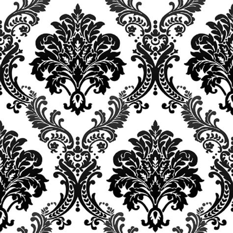 black and white embossed wallpaper 10m vintage luxury black damask on white textured embossed