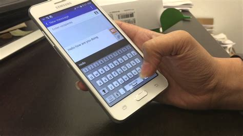 samsung grand prime message themes samsung galaxy grand prime review youtube
