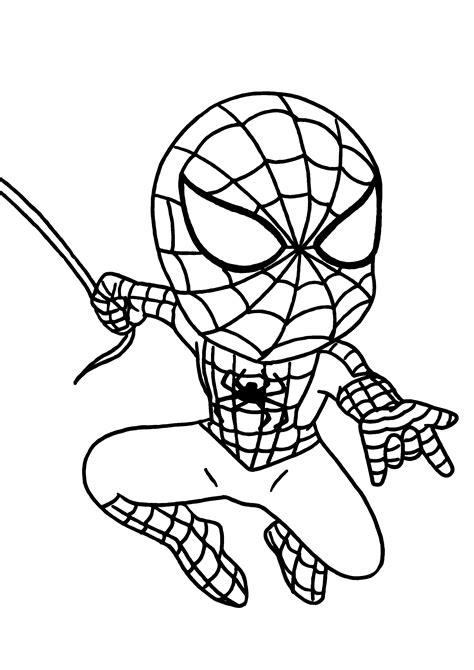 dibujos para colorear de spider man gratis 167 dibujos de spiderman para colorear oh kids page 4