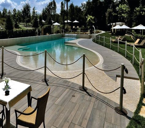 Wood Patio Pavers Slab Style Simulated Wood Look Porcelain Pavers Around A Pool Contemporary Pool Dc Metro