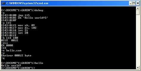 assembly tutorial x86 linux description of assembly hello world stack overflow