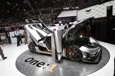 newest koenigsegg koenigsegg agera one 1 to take on mclaren p1 updated