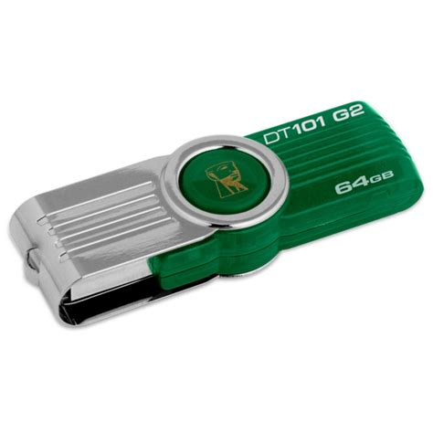 Usb Kingston 64gb usb flash drive 64gb kingston digital datatraveler 101 g2 green