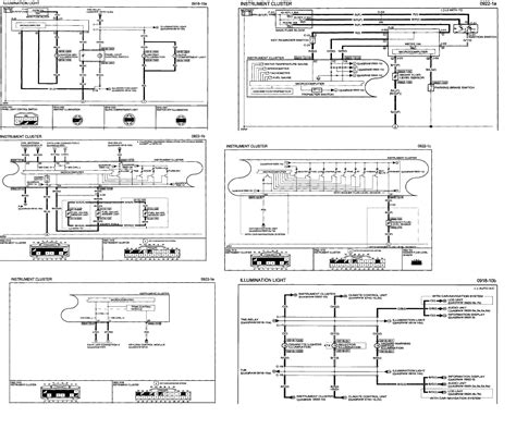 2008 mazda 3 a wiring diagram for cluster and coil antenne 2 3l