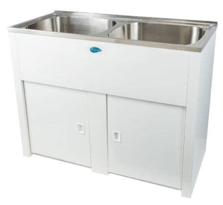 bathtub laundry nugleam twin laundry tub bathroomware house