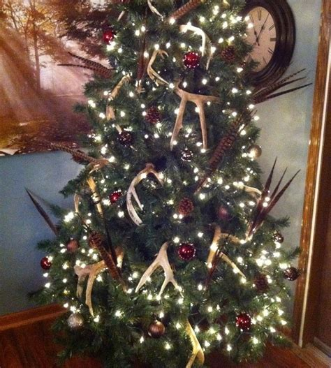 deer antler tree topper 13 decorations for hunters pics