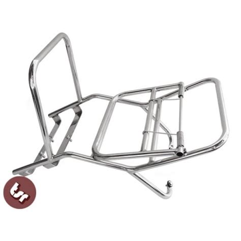 Rally Rack by Vespa Stainless Steel Madrid Rear Rack Luggage Carrier