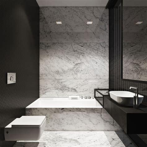 bagni con marmo foto bagno con rivestimenti in marmo di rossella