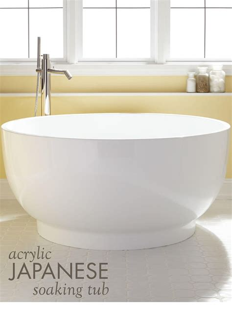 traditional japanese bathtub 51 quot kaimu acrylic japanese soaking tub japanese soaking