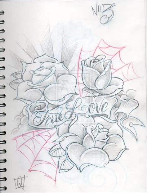 Tattoo Sketch Paper | love tattoo ideas and love tattoo designs page 6